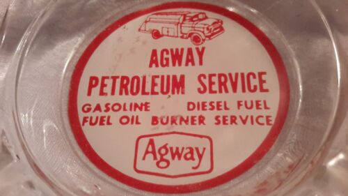 Agway Petroleum Vintage Ashtray Gasoline Fuel Oil Diesel Burner advertising