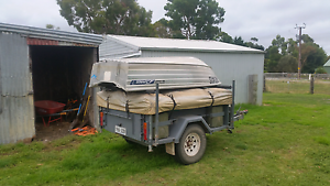 Offroad camper with tinny $6500 firm Meadows Mount Barker Area Preview