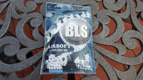 [PLA45-1] BLS Perfect Airsoft .45g BIO BBs White BB 0.45g .45 0.45 6mm 1000CT
