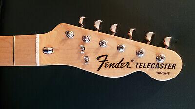 Fender Telecaster 3-bolt neck Maple fretboard (from CIJ Tele Thinline TN-72)