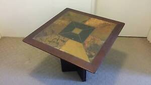 Moving sale! Stunning Wood and Slate Coffee Table Macquarie Park Ryde Area Preview