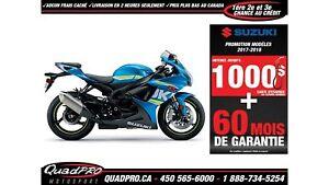 2017 Suzuki GSX-R750 44,50$/SEMAINE