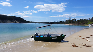 3.7m Tinny with 15hp Yamaha motor in excellent condition. Hyams Beach Shoalhaven Area Preview