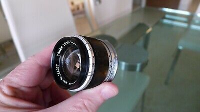 "Canon 50mm f/1.8 for Leica M Rangefinder cameras, ""M"" Mount Fixed in place"
