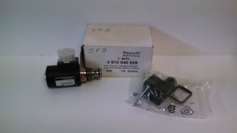 NEW IN BOX! REXROTH BOSCH HYDRAULIC CHECK VALVE ASSEMBLY 0-810-040-929