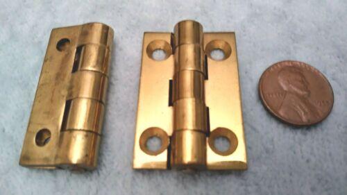 Cast Brass Butt Hinges Corbin 1 x 1-1/2 Small Box