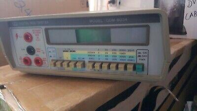 Gdm-8034 Industrial Portable Bench Digital Multimeter