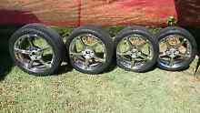"""18 """" commodore rims and tyres (vl - vz) Brighton Brisbane North East Preview"""