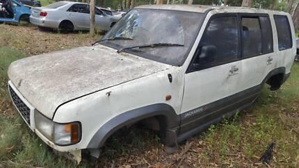 1997 Holden Jackaroo WHITE FOR WRECKING