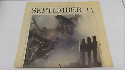 9 11 02 The Roanoke Times 2 Section Special Ed Commemorating September 11 2001