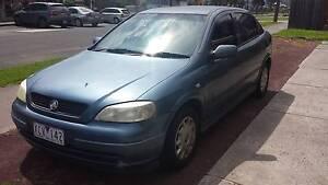 2001 Holden Astra Hatchback Melbourne CBD Melbourne City Preview
