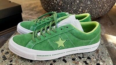 CONVERSE ONE STAR OX MINT GREEN - JADE LIME - WHITE MEN'S SIZE 11 NEW IN BOX