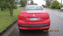2008 Peugeot 207 Convertible Kotara Newcastle Area Preview