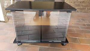 Small Used Black TV Unit Hoppers Crossing Wyndham Area Preview