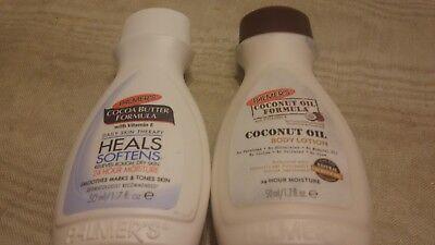Palmers cocoa Butter formula 1.7 Fl ounces and Palmers coconut oil formula...