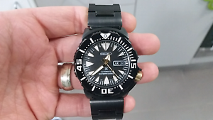 BRAND NEW Seiko Sea Monster SRP583 automatic divers Prospex watch Charlestown Lake Macquarie Area Preview