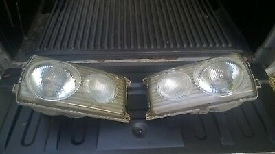 Mercedes Benz W123 HeadLight Pair 1976 - 1979  230 280 300 series Original euro  for sale  Morgantown