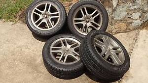 Toyota Celica ZZT231 (2000-05) wheels and tyres Bli Bli Maroochydore Area Preview