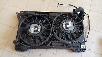 03 AUDI A8 D3 4.0 TDI V8 ENGINE COOLING RADIATOR WITH TWIN COOLING FAN 4E0121205