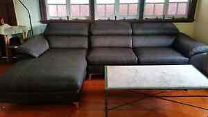 Excellent condition couch / lounge with chaise Toowong Brisbane North West Preview