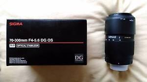 Sigma AF 70-300mm DG OS (Optical Stabiliser)for Nikon Digital SLR Penrith Penrith Area Preview