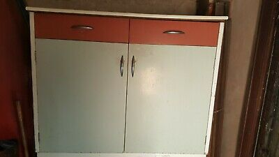 Vintage kitchen cabinet cupboard