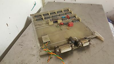 Sharnoa  CNC Control PC Board, SE-138-1, Used, Warranty