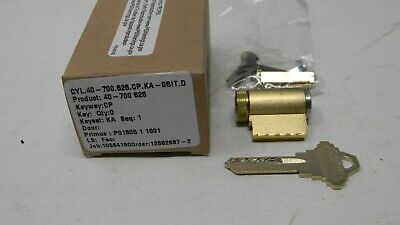 Schlage Primus Level 1 Knoblever Cylinder- Satin Chrome 626 - New High Security