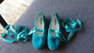 Turquoise Repetto Ballet Flats - Brand New