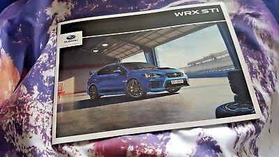Subaru WRX STi Final Edition MY18 (VA Series/4th Gen) Sales Brochure - 29 pgs