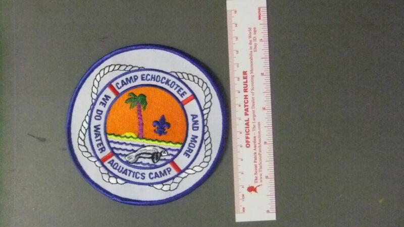 Boy Scout Camp Echockotee Aquatics Camp 6555II