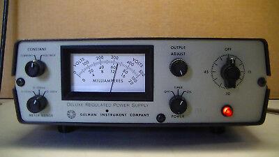 Deluxe Regulated Power Supply 500v Model 38520 Gelman 115v