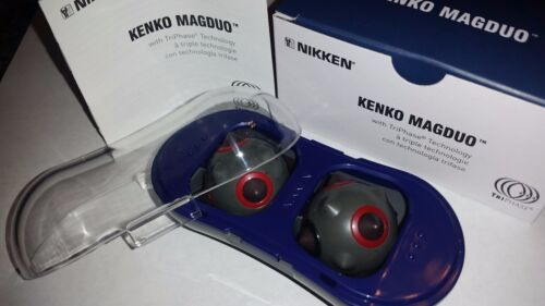 NIKKEN MAGDUO MAGNETIC MASSAGER NEW MODEL MAGBOY #13201 WORLDWIDE SHIPPING!
