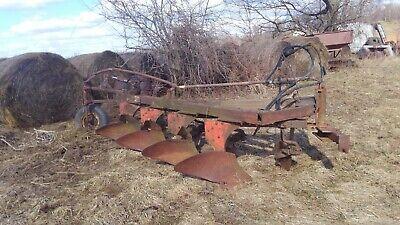 Case Semi Mount Plow 4 Bottom Three Point Moldboard John Deere Minnie Oliver
