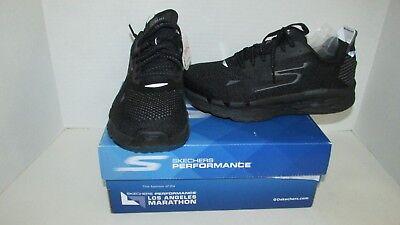 Skechers go run Ultra R 2 black NEW running shoes 7.5 NIB Men's