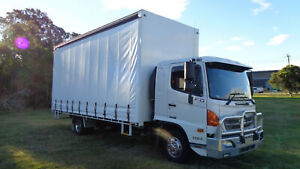 Hino FD 1124-500 Series  Curtainsider Rocklea Brisbane South West Preview