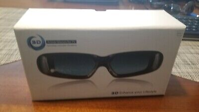 Sain Sonic 3D Active Shutter Glasses Rechargeable TV Three Dimensional Viewing