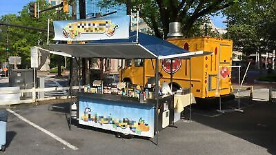 2014 - 3.4 X 7.5 Food Crepes Concession Trailer For Sale In Maryland