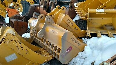 Heavy Duty Cat 307 308 48 Excavator Clean Out Skeleton Bucket