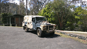 Land Rover Perentie Rochedale South Brisbane South East Preview