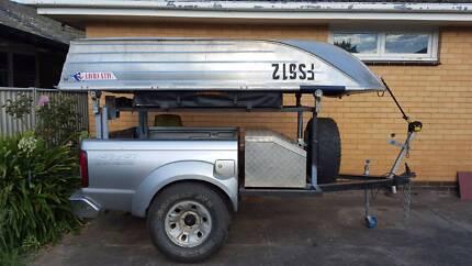 Tub trailer Navara