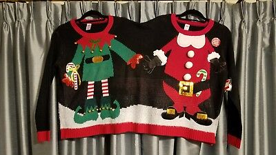 Ugly Christmas sweaters for - Ugly Christmas Sweaters For Couples
