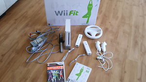Nintendo wii and wii fit board Halls Head Mandurah Area Preview