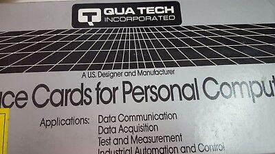 Quatech Pxb-241 Pxb-241reva Data Aquisition 24 Line Isa Interface Card