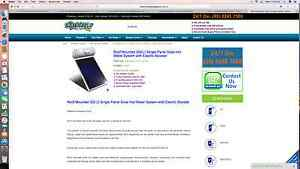 T.P.A.G.G  Solar Hot Water supplied and Installed******7508 Perth Perth City Area Preview