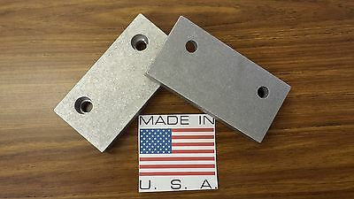 6 X 3 X 1 Aluminum Vise Jaw Pair For Kurt And Most Others