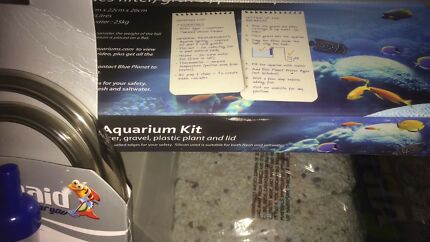 Aquarium Brand New Still boxes