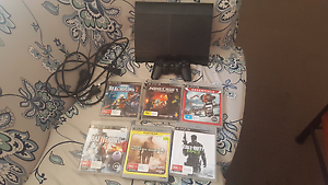 Ps3 500 gigs 2 Controllers and games Elermore Vale Newcastle Area Preview