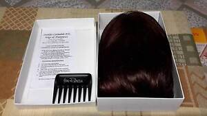 Jon Renau O Solite Wig Hair Piece Burgundy Cherry brown Long Mount Compass Alexandrina Area Preview