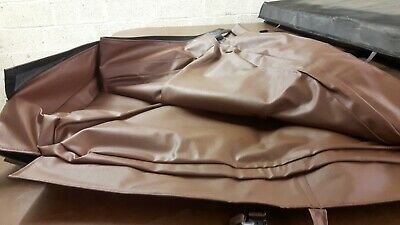 Hot tub cover jacket- Brown - NEW  84